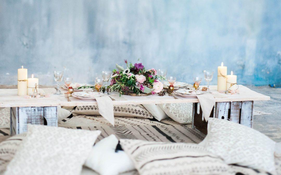 Esküvői asztaldísz egyéniségre szabva